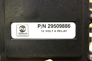 USED RV PARTS ALLISON TRANSMISSION 12 VOLT 6 RELAY 29509886 FOR SALE