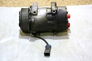 USED MOTORHOME SANDEN AC COMPRESSOR U4667 FOR SALE