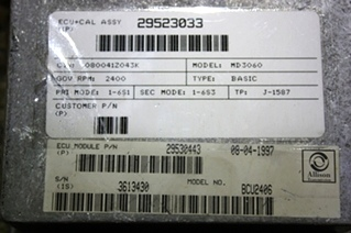 USED MOTORHOME ALLISON TRANSMISSION ECU WITH SHIFT SELECTOR 29530443 FOR SALE