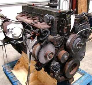 USED CUMMINS DIESEL ENGINE | CUMMINS ISC350 DIESEL ENGINE YEAR 2001 FOR SALE