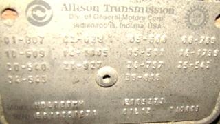USED ALLISON TRANSMISSION | ALLISON 4000MH AUTOMATIC TRANSMISSION FOR SALE