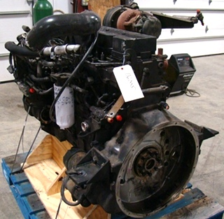 USED CUMMINS ENGINE   ISC330 YEAR 2001 330HP FOR SALE