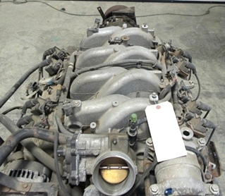USED CHEVY VORTEC 8100 8.1L ENGINE YEAR 2002 WITH ALLISON TRANSMISSION FOR SALE