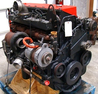 USED CUMMINS DIESEL MOTOR | CUMMINS DIESEL ISM500 500HP YEAR 2001 FOR SALE