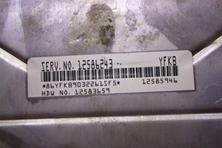 USED RV DELPHI AUTOMOTIVE SYSTEMS 12583659 FOR SALE