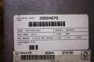 USED ALLISON TRANSMISSION ECU 29530444 MOTORHOME PARTS FOR SALE
