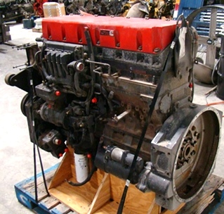USED CUMMINS DIESEL MOTOR | CUMMINS DIESEL ISM450  450HP YEAR 2002 FOR SALE