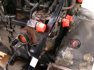 USED CUMMINS ENGINE FOR SALE   CUMMINS 8.3L ISC 350 2002 DIESEL ENGINE - LOW MILES