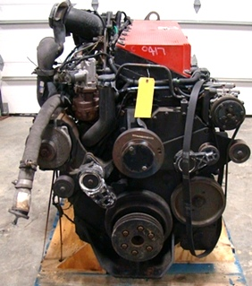 USED CUMMINS DIESEL MOTOR | CUMMINS DIESEL ISM500 500HP YEAR 2004 FOR SALE