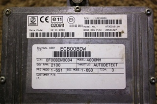 USED ALLISON TRANSMISSION ECU 29541227 RV CHASSIS PARTS FOR SALE
