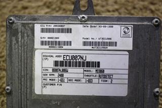 USED RV ALLISON TRANSMISSION ECU 29534937 FOR SALE