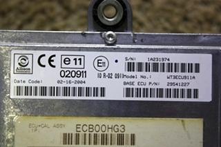 USED ALLISON TRANSMISSION 29541227 ECU-TCM MOTORHOME PARTS FOR SALE
