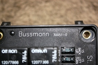 USED 30051-0 BUSSMANN MODULE RV PARTS FOR SALE