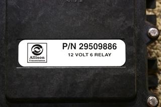 USED RV ALLISON TRANSMISSION 29509886 12 VOLT 6 RELAY MODULE FOR SALE