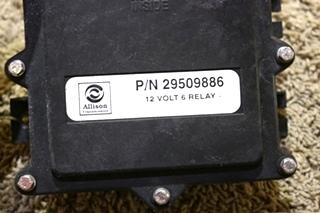USED ALLISON TRANSMISSION 12 VOLT 6 RELAY 29509886 MOTORHOME PARTS FOR SALE
