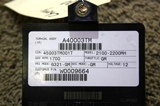 USED MOTORHOME ALLISON TRANSMISSION TCM 29544772 FOR SALE