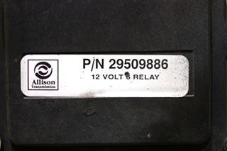 USED ALLISON TRANSMISSION 29509886 12 VOLT 6 RELAY MOTORHOME PARTS FOR SALE