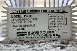 USED RV DAYTIME RUNNING LIGHT CONTROL MODEL: 1325F FOR SALE