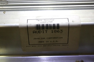 USED RV TANK MONITOR COMPUTER AUDIT 1863 FOR SALE