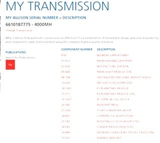USED ALLISON TRANSMISSION   ALLISON MD4000MH TRANSMISSION FOR SALE