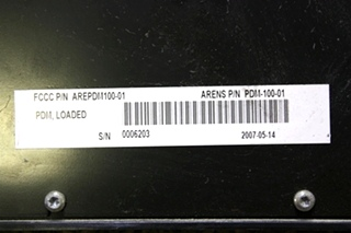 USED MOTORHOME ARENS AREPDM100-01 POWER DISTRIBUTION MODULE FOR SALE
