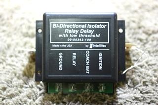 USED RV INTELLITEC BI-DIRECTIONAL ISOLATOR RELAY DELAY 00-00362-100 FOR SALE