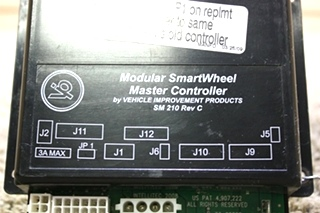 USED RV VEHICLE IMPROVEMENT PRODUCTS MODULAR SMARTWHEEL MASTER CONTROLLER SM 210 FOR SALE