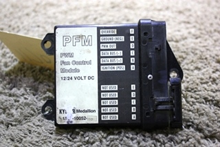USED MOTORHOME MEDALLION PFM PWM FAN CONTROL MODULE 1539-10052-07 FOR SALE