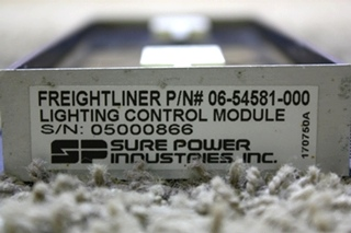 USED MOTORHOME SURE POWER 06-54581-000 LIGHTING CONTROL MODULE FOR SALE