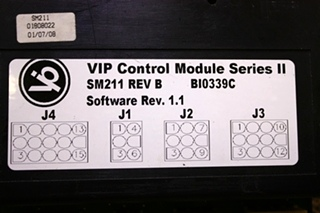 USED MOTORHOME VIP CONTROL MODULE SERIES II SM211 FOR SALE