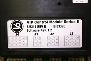 USED VIP CONTROL MODULE SERIES II SM211 RV PARTS FOR SALE