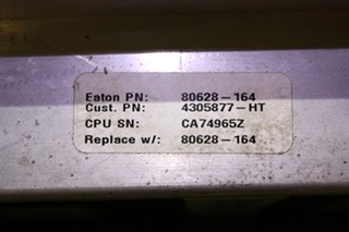USED EATON VORAD EVT-300 COLLISON WARNING RADAR RV PARTS FOR SALE