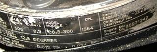 USED CUMMINS ENGINE   C8.3-BUS 300HP DIESEL ENGINE FOR SALE