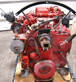 CUMMINS DIESEL ENGINE | CUMMINS ISC360 8.3L 360HP FOR SALE - 15,000 MILES