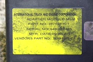 USED RV ADAPTER MODULE - MSM 3876288C1 MOTORHOME PARTS FOR SALE
