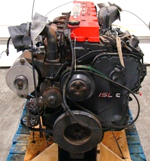 CUMMINS DIESEL ENGINE | 2002 8.8L ISL370 FOR SALE - 64,000 MILES