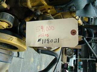 USED CATERPILLAR C7 KAL ENGINE FOR SALE 2004 7.2L 59,000 ORIGINAL MILES