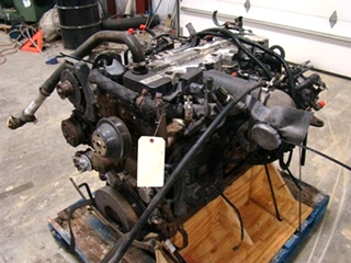 USED CUMMINS DIESEL ENGINE FOR SALE | 2002 CUMMINS ISB 5.9 300HP DIESEL ENGINE FOR SALE