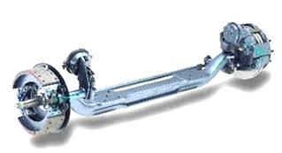 USED MERITOR AXLE P/N:FD965WX51