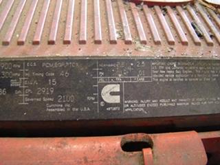 Used Cummins ISX 650 Diesel Engine For Sale